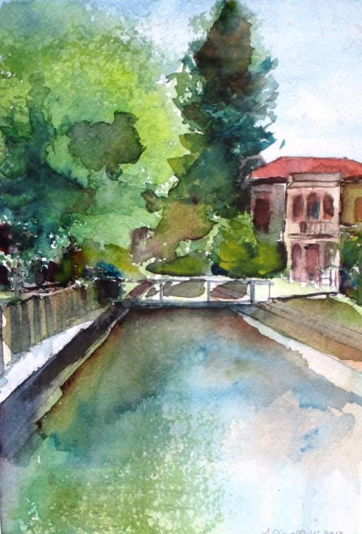 Scorcio Villa Contarini 2012 - 3° premio-